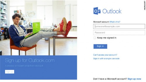 E-mail Hotmail 2